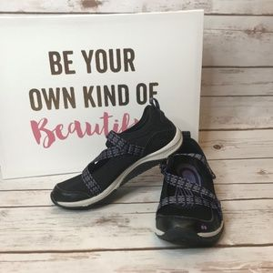 Ryka Kailee BlacK Mesh Mary Jane Sneaker